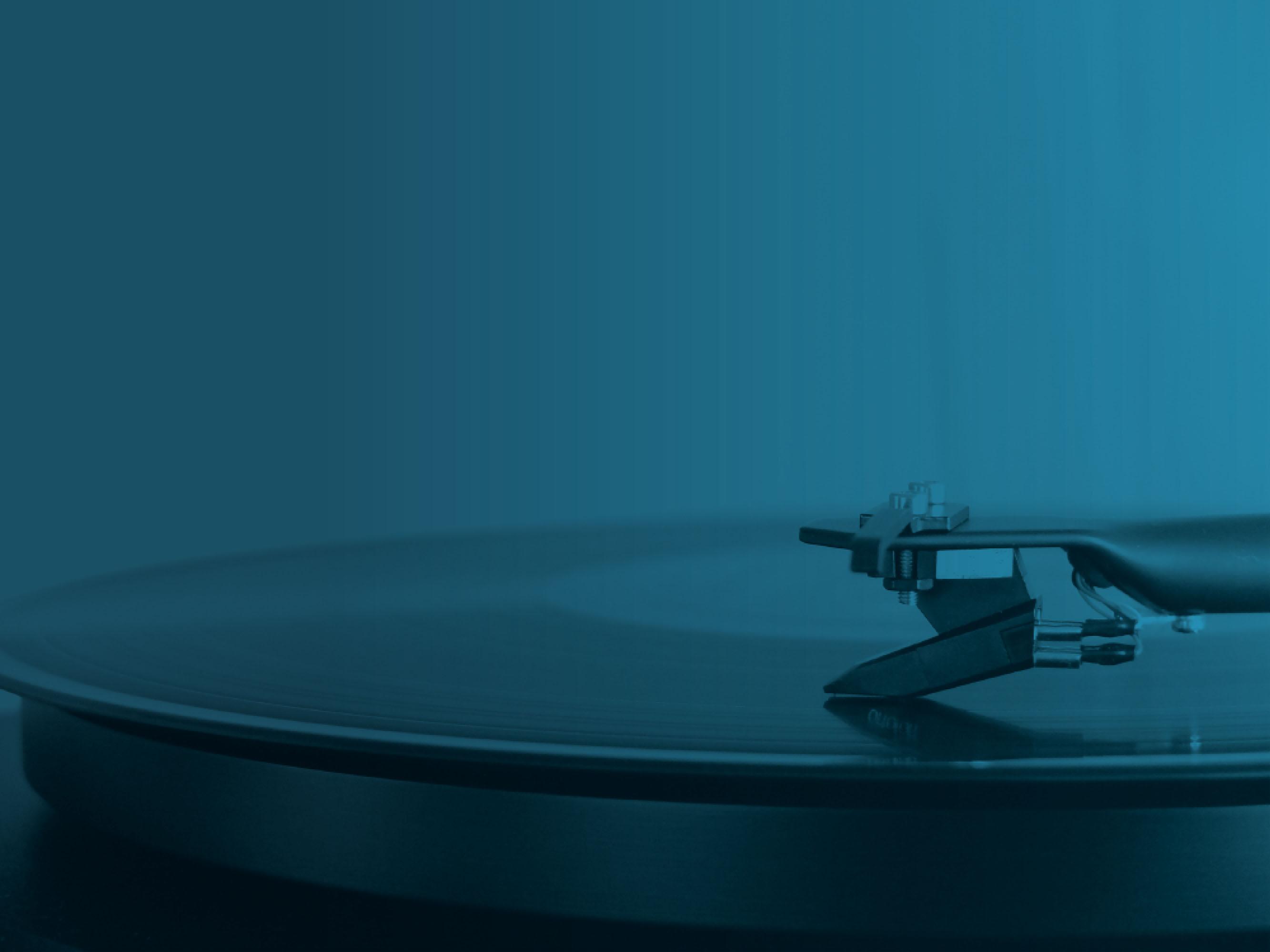 Vinyl sur platine